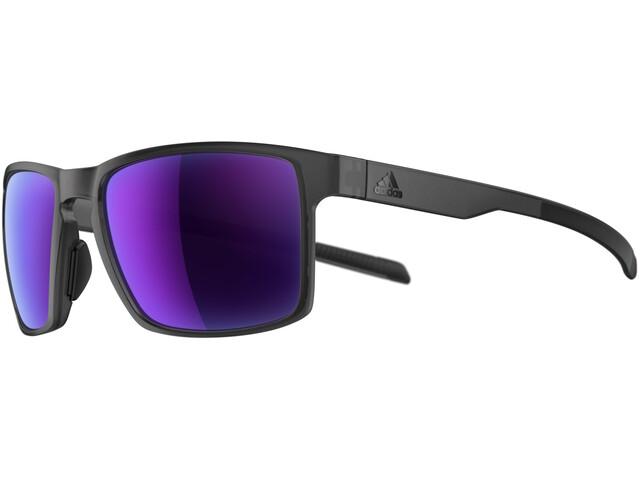adidas Wayfinder Bril, coal matt/viola